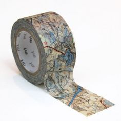 Map washi tape - FAO @Arielle Gordon Gordon Gordon Becker & @Michelle Flynn…