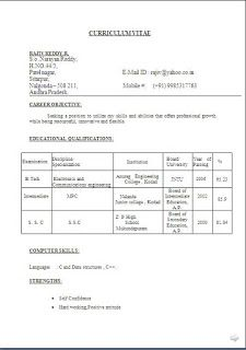 Format Curriculum Vitae Curriculum Vitae Sample For Student Beautiful Excellent
