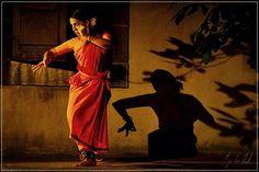Jamila Dorner dancing Bharatanatyam