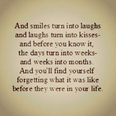 smile, laugh, live in the moment
