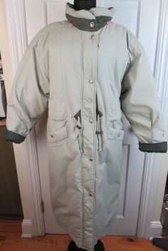 Mulberry Street Warm Down Filled Bubble Woman's Coat Jacket Size M #MulberryStreet #BasicCoat
