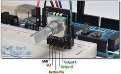 Rotary Encoder Arduino Tutorial Example