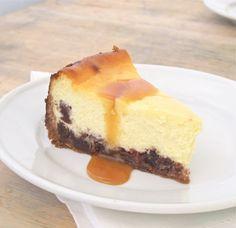 Jenny Steffens Hobick: Caramel Brownie Cheesecake | National Cheesecake Day!