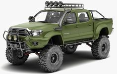 Wallpapers toyota tacoma, special edition, pickup, 4x4, green - car pictures and photos toyota - download