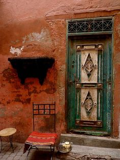 gyclli:    Marrakech Door *** by Danielle Chappell-Hall     redbubble.com