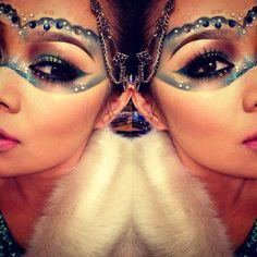 10 maquiagens para o Carnaval do InstagramPausa para Feminices