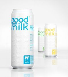 Would you buy milk in a can? Interesting thought.