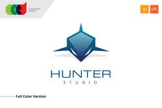 Hunter - Logo Template by Cooledition on @creativemarket