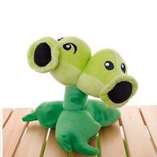 Plants vs Zombies 2 PVZ Figures Plush Staff Toy Stuffed Soft Doll Baby XMAS gift