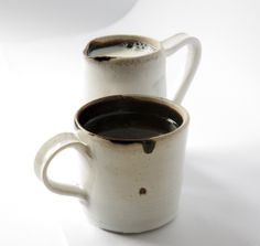 Cup & Jug by Anya Ceramics, Mugs, Interior Design, Tableware, Handmade, Ceramica, Nest Design, Pottery, Dinnerware