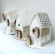 little houses, gingerbread