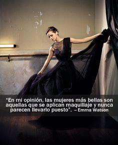 Las frases más glamorosas de las it girls que protagonizaron nuestra portada Emma Watson, en la edición de Diciembre 2012.