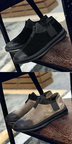 US $28.8 <Click to buy> New Classics Style Men Casual Shoe Suede
