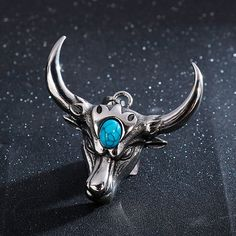 Necklace Types, Men Necklace, Pendant Necklace, Head Jewelry, Skull Jewelry, Metal Necklaces, Horns, Turquoise Bracelet, Jewelry Accessories
