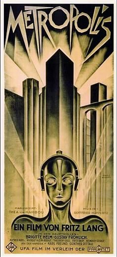 Metropolis - amazing art work!