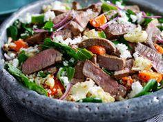 Lamb Salad With Cauliflower, Carrot And Quiona - Yahoo New Zealand Food