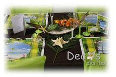 décoration mariage exotique - Google Search