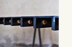 Faye Toogood | Furniture Design steel profile , bolts