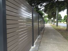 Wrap Your House Around the Best Aluminum Slat Fencing from Accolade® Screens Aluminum Fence, Aluminium Fencing, Fence Slats, Outdoor Projects, Outdoor Decor, Outdoor Blinds, Fence Styles, Landscaping Ideas, Backyard Ideas