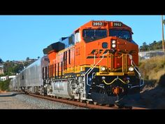 All aboard! Let's look at trains from all over the state of California - it's California Trains! You will see just about every different train in California . Kingdom Of Kongo, Train Clipart, Diesel, East Los Angeles, Dry Desert, Train Posters, Norfolk Southern, Railway Museum, Redwood Forest