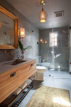 #Warm Bathroom