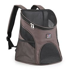 Pet Carrier Backpack  SODIALR Dog Cat Pet Softsided Pet Carrier  Mesh Pup Pack  Travel Cat Litter  Travel Backpack  Dog House with Mesh Window for Pet Backpack Pet Carrier Coffee S ** See this great product. (This is an affiliate link) #CatCarrier