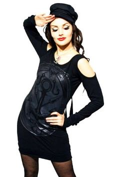 Poizen Industries - Vixxsin - Nikki Top / Dress - Black