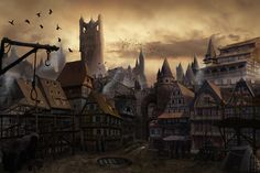 another mattepainting for my Honours project