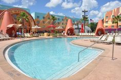 Walt Disney World's Art of Animation Resort opened! (6/18) This is a must do! Each room sleeps 6 :)