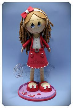 fun foam girl doll...photos