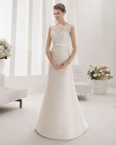 8B275 PLANETA | Wedding Dresses | 2015 Collection | Alma Novia (Shown without detachable Cathedral length Train)