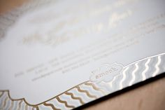 Smock's 2012 National Stationery Show Invitations: Foil Stamping, New Calligraphy Fonts & New Designs Arrive!