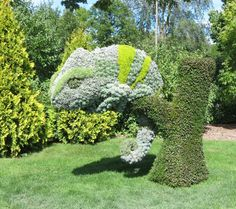 Gartenfiguren Aus Pflanzen - Wunderliche Gartenkunst In Atlanta ... Lebendige Skulpturen Im Garten Atlanta