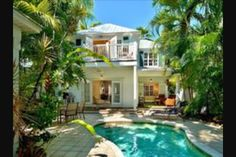 Key West Home Outdoor Living Space