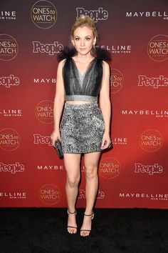 Emily Kinney attends People's 'Ones to Watch' event at NeueHouse Hollywood.