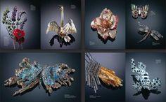 Jewlery, Crown, Figurative, Nature, Design, Lights, Jewels, Drive Way, Jewelry