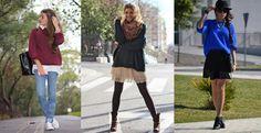 Тренди модни комбинации со џемпери – есен/зима 2014-2015 #trends #fashion