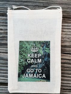 10 Jamaican wedding favor bags Jamaica favor bag by EverlongEvents