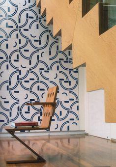 #casavogue #pattern #tiles #bluetiles #valeriacontijo