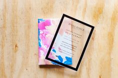 The 11 Prettiest NYFW Invites Of The Season #refinery29  http://www.refinery29.com/52639#slide11  Invite or hangable canvas work? Either way, we're pumped for the Tanya Taylor show.