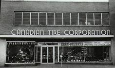 1960'2 downtown Canadian Tire, Sudbury, Ontario