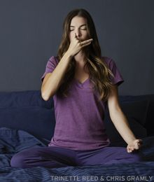 Nadi Shodhana (Alternate Nostril Breathing) calms the nervous system and balances the sushumna nadi, an energy channel that quiets the mind. Learn more: www.yogajournal.com/health/2641
