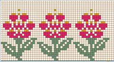 Fair Isle Flower Pattern Design by BarbSie