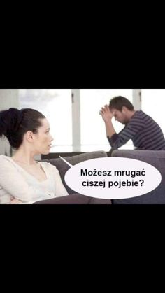 Mrugaj ciszej Very Funny Memes, Wtf Funny, Funny Cute, Health Memes, Polish Memes, Men Vs Women, Funny Mems, Man Vs, Reaction Pictures