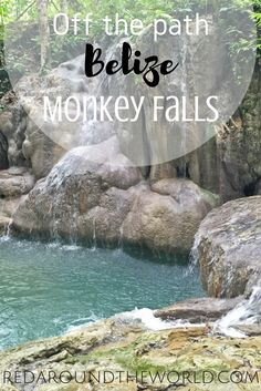 Hike to Monkey Falls outside of San Ignacio, Belize and have a relaxing afternoon swimming and exploring the jungle. Belize Vacations, Belize Travel, Costa Rica Travel, Vacation Places, Beach Travel, Mexico Travel, Vacation Ideas, San Ignacio Belize, Weather In Belize