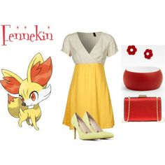 fennekin outfit #pokemon