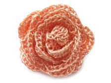 I just made this beautiful crochet rose (pg 3 of patterns). The pattern shows the stitches, but not the assembly. Just roll the ribbon of stitches and sew so it doesn't unravel. Quite simple, really. Picot Crochet, Crochet Puff Flower, Crochet Flower Tutorial, Crochet Leaves, Crochet Diy, Crochet Motifs, Crochet Flower Patterns, Crochet Diagram, Crochet Stitches Patterns