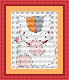 Nyanko Sensei from anime Natsume's Book of Friends | Craftsy