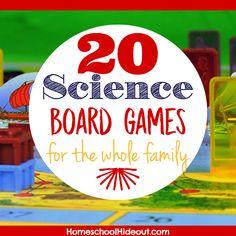 20 Science Board Games