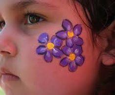 Bildergebnis für small face paint ideas
